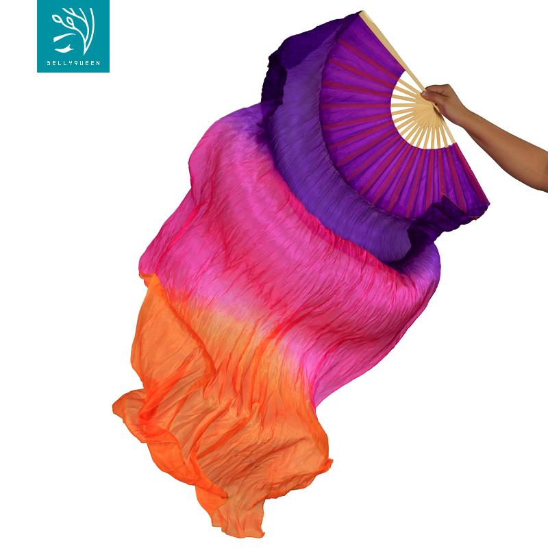 Wholesale 6 pieces silk-like Scarves Light Soft Veils 250x120cm Gradient Color