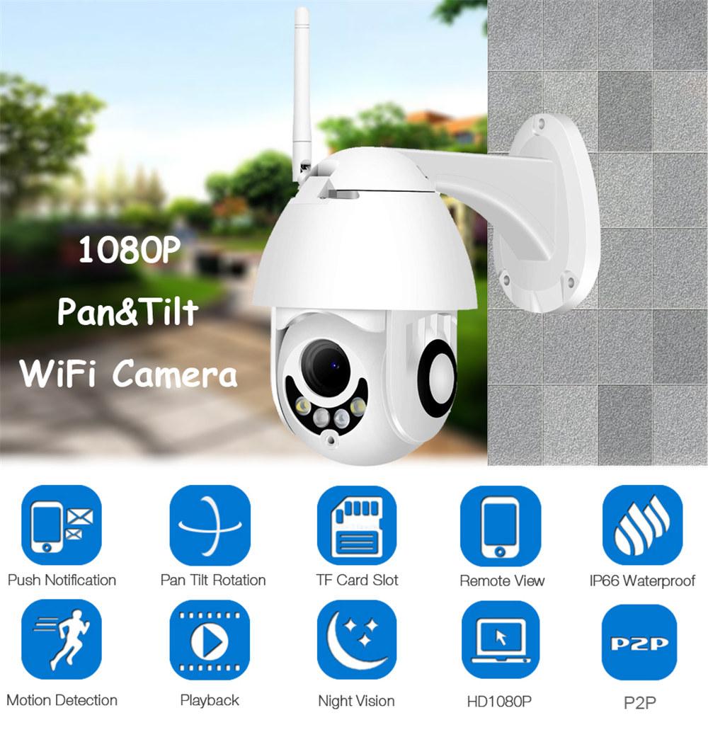 Outdoor 25x zoom PTZ 4G Camera V380 HD 1080P Wireless WiFi IP Security Camera Waterproof Rotate 355 degree