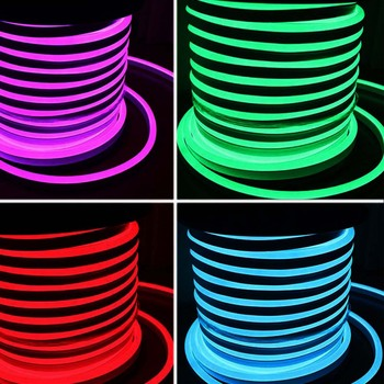6*12mm 3d customized led neon flexible led sign silicon led neon strip light neon flex strip
