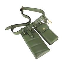 Регулируемая модная женская поясная сумка, модная кожаная поясная сумка, сумка через плечо, нагрудная сумка, поясная сумка для телефона, сум...(Китай)