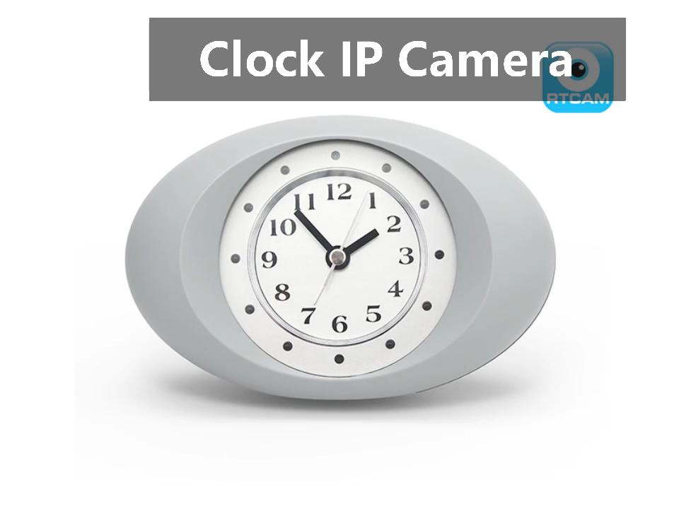 미니 스마트 CCTV 홈 보안 양방향 통신 HD 1080p 알람 시계 HD Nanny 카메라 Wifi IP 숨겨진 스파이 카메라 시계