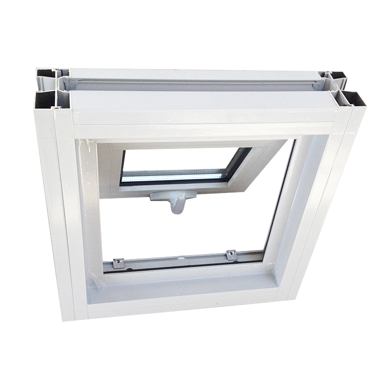 FL50 powder coating residential Aluminum awning window for sale