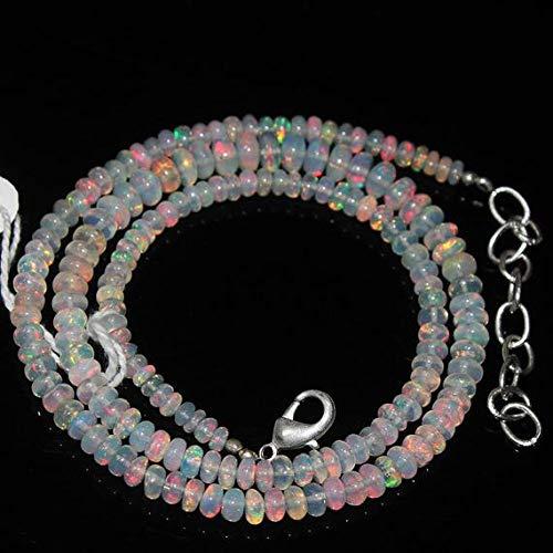 Gemstone Fire Ethiopian Welo Opal Smooth Loose Round Gemstone Craft Beads