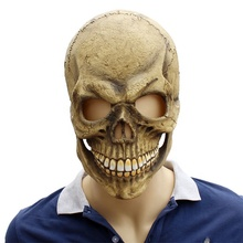 Goog Kwaliteit <span class=keywords><strong>Latex</strong></span> Halloween Scary Herbruikbare Schedel Gezichtsmasker Halloween Deco