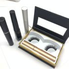 Magnetic Eyelashes 5 magnets with eyeliner provide label packaging