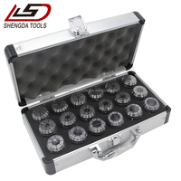 High accuracy CNC tool accessories milling machine ER collet set DIN6499B collet chuck set ER16/20/25/32/40