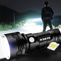 1000 Lumen Super Bright Shenyu P70 Led Sorce 26650 Battery High Power Style Led Strong Torch Flash Light Rechargeable Flashlight