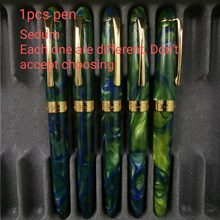 LORELEI смоляная авторучка, чернильная ручка, Золотые зажимы-преобразователи, наполнитель, тонкий наконечник, деловые канцелярские принадлежн...(Китай)