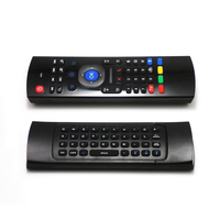 MX3 Remote Control + Keyboard + Air Mouse Wireless untuk Android TV Box Mini PC TV