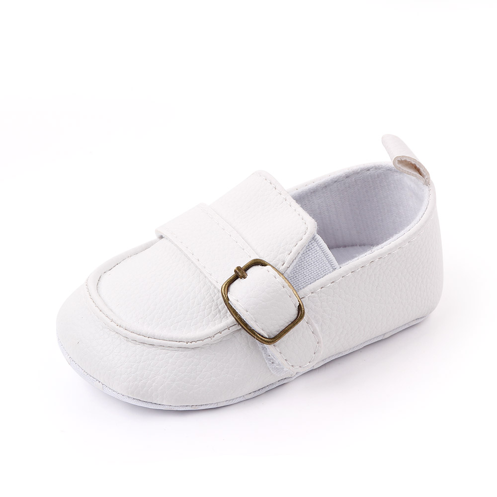 Wholesale Spring&Autumn Soft Sole PU leather Prewalker baby shoes