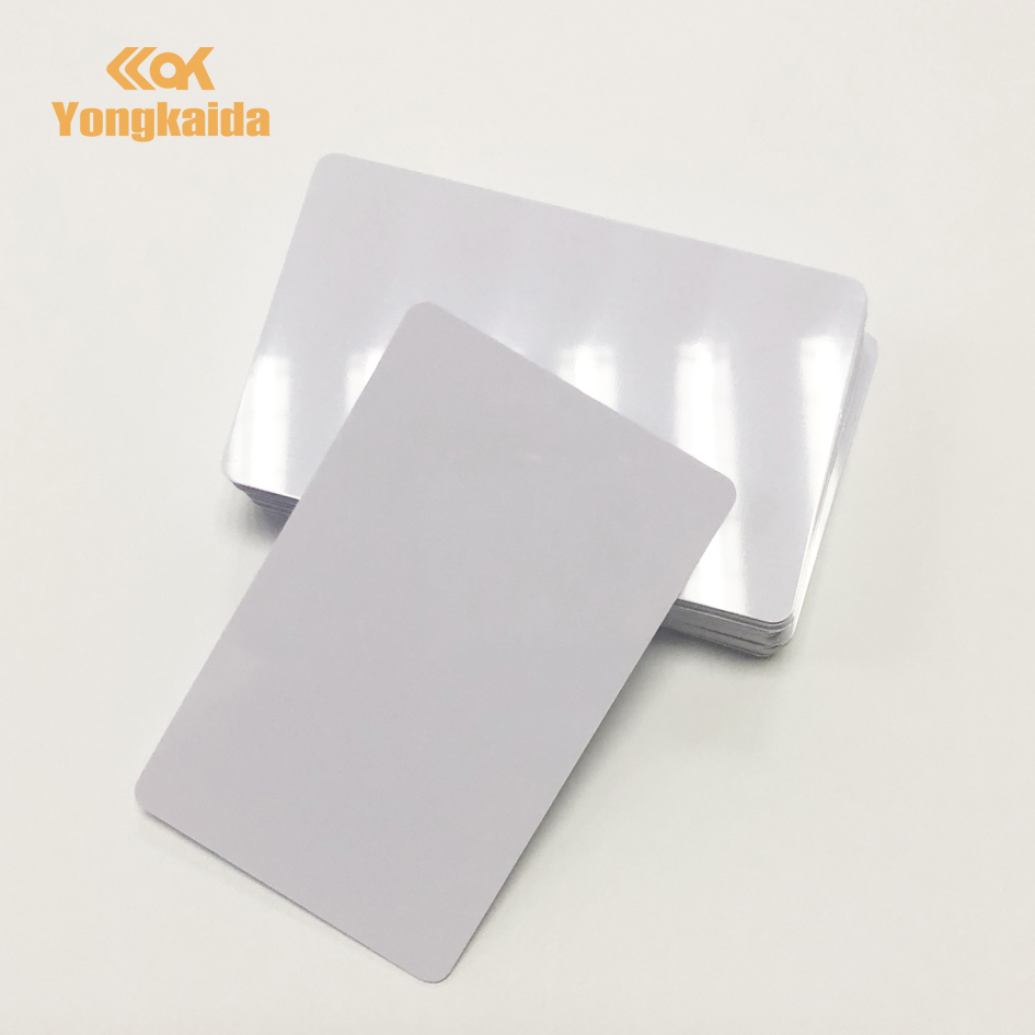 CR80 Size Thickness 1.8mm Thick Card TK4100 125KHz ABS White RFID Card Clamshell Card