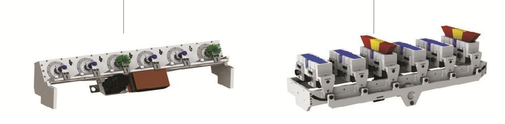5 Axis 3 Drills and 2 Tufting Tool Machine VM70-25D Broom machine Tufting machine