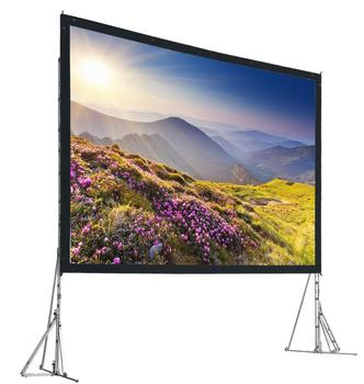 Fast Fold Projector Screen 72- 200 inches Quick Folding Projection Screens with Frame 4:3/16:9 optional