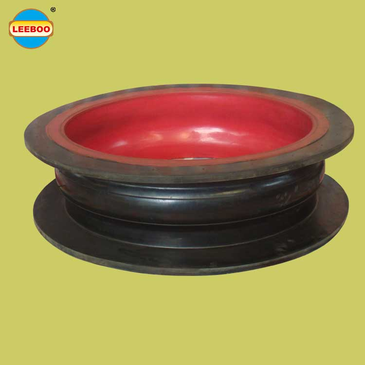 Xinli pipeline custom production galvanized flange coupling pipe single sphere rubber expansion joint