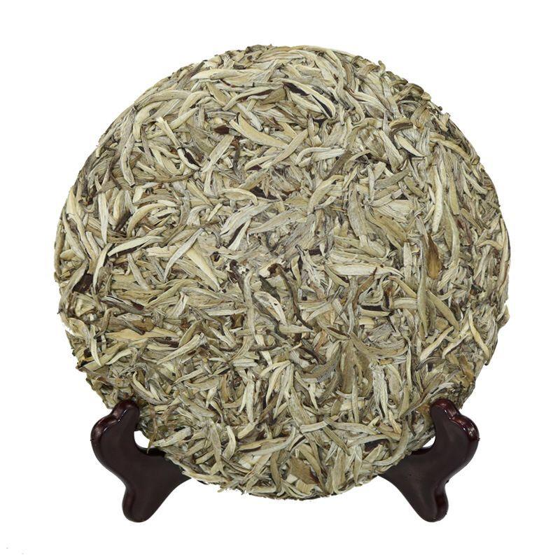Premium Silver Needle White Tea Cake Baihaoyinzhen Tea - 4uTea | 4uTea.com
