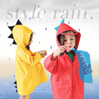 Baby dinosaur waterproof windproof poncho Raincoats for boys and girls