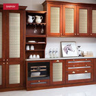 Home Furniture Traditional Design Solid Wood Kitchen Cabinet