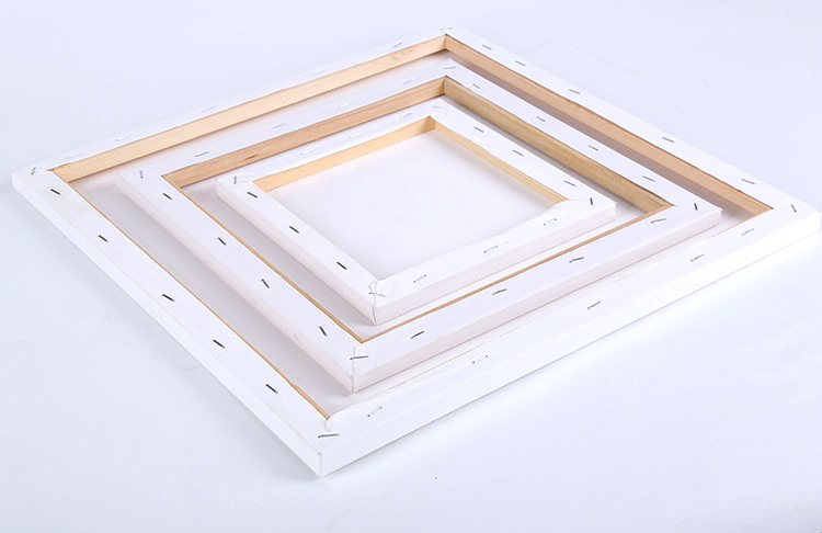 Wholesale Custom Size Blank Painting Canvas with Wood Stretcher Bar