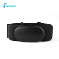 Sport heart rate monitor belt with bluetooth heart rate monitor strap for body exercise