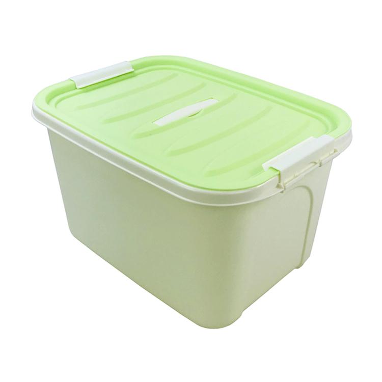 Caja de almacenamiento de plástico