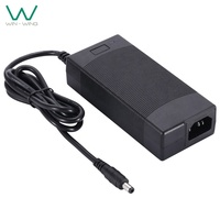 Battery charger 36V 2.5A AC DC power adapter UL62368 TUV-GS CE ROHS PSE CCC