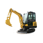 Multifunctional Smallgarden Hydraulic Digger Mini Excavator 2.5tons