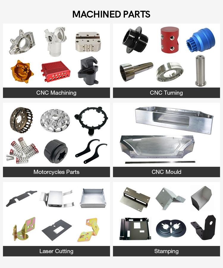 High precise small quantity 6061 aluminum brass prototype cnc milling metal machining parts service