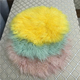 Wholesale Tibetan Mongolian Sheepskin Fur Cushion Pillow Cover