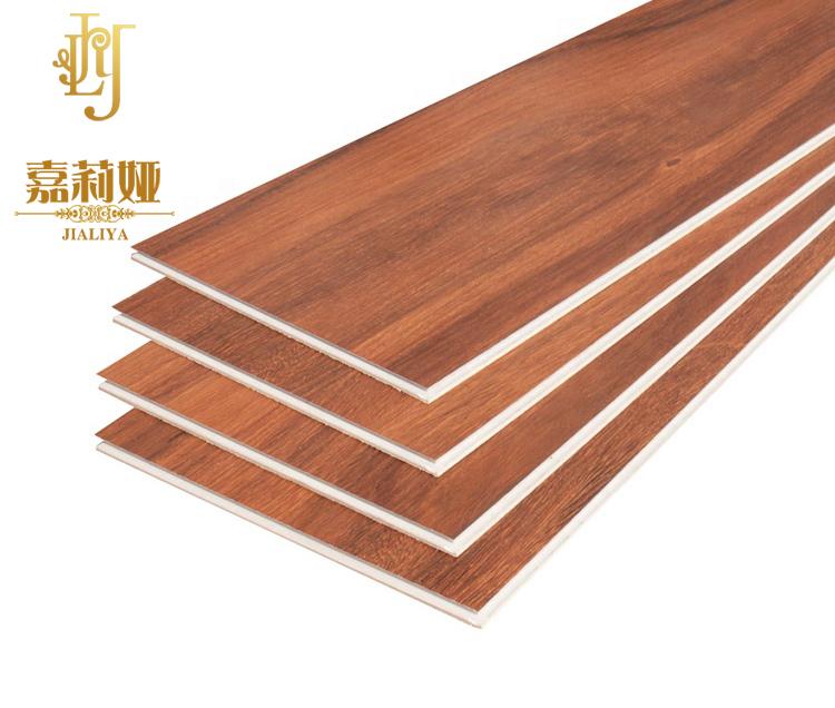 waterproof vinyl tile red Wood pattern floor