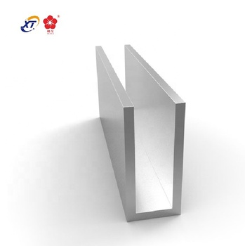 Low price aluminium u,c,h,e channel profile,aluminum track channel