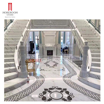 White water jet marble flooring designs marble medallion