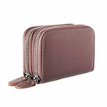 Женские бумажники, кошельки, многофункциональные, женские, дизайнерские, из натуральной кожи, RFID, на молнии, с держателем для кредитных карт(Китай)