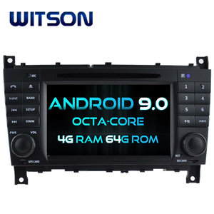 WITSON ANDROID 9.0 CAR DVD GPS NAVIGATION FOR MERCEDES BENZ C CLASS CLC W203 G-Class W467