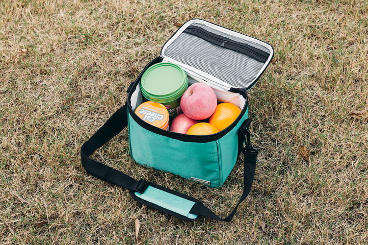 Outdoor insulated picnic pack ice bag freezable lunch bag