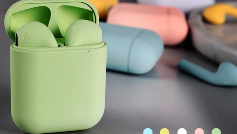 2020 New Macaron Inpods 12 TWS Tai Nghe Điều Khiển Cảm Ứng 5.0 I12 TWS Mini Đúng Bluetooths Tai Nghe Không Dây Headphone