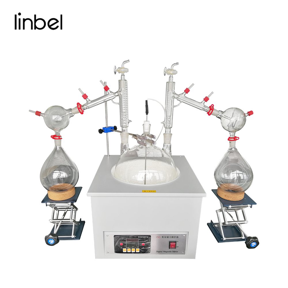 Linbel Short Path Distillation Turnkey Short Path Vacuum Distillation 20l