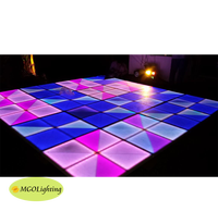 New Led Dj Lights Portable Dance Floor Prices