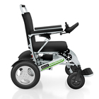 HEDY SEW02 Smart Foldable Power Electric Wheelchair with SOS, FM Radio and Remote Control by Mobile APP functions