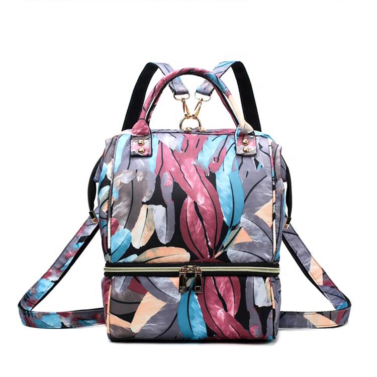 Özel yeni seyahat su geçirmez çok fonksiyonlu anne için bebek bezi çantası nappy sırt çantası