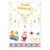 Christmas Temporary Tattoo for Kids Adult Cartoon Temporary Tattoo for Kids Winter Elements Fake Tattoos