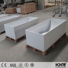 Soaking KKR Free Standing Spa Baths Freestanding Bathtub Stone