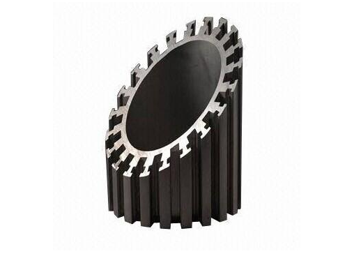 Alodine Surface Treatment Aluminum Heatsink Extrusion Profiles For Machines