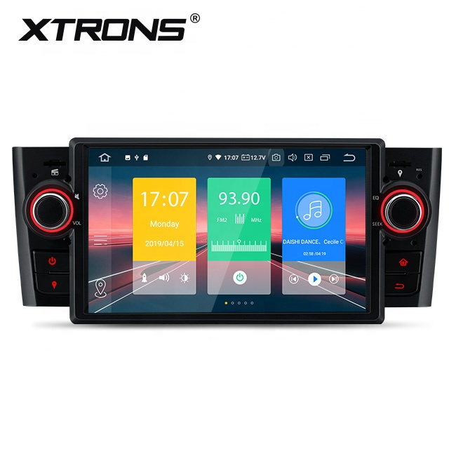 XTRONS 1 din android 9.0 quad core android car multimedia radio for fiat grande punto linea with bluetooth SD USD port