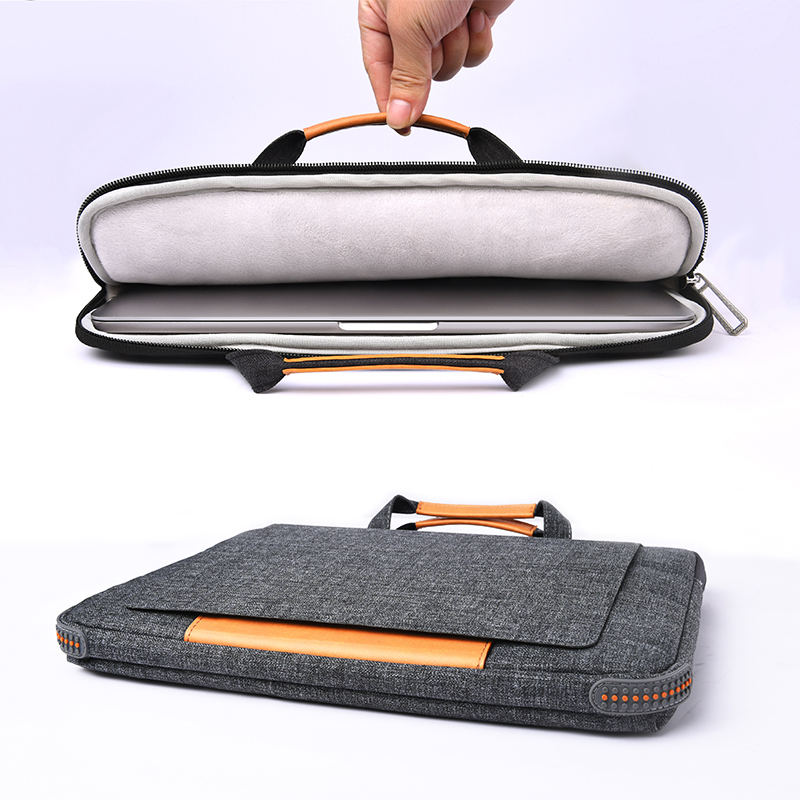 WiWU 13 inch Laptop Handbag with Portable Stand function waterproof polyester Smart laptops bags with shockproof padding