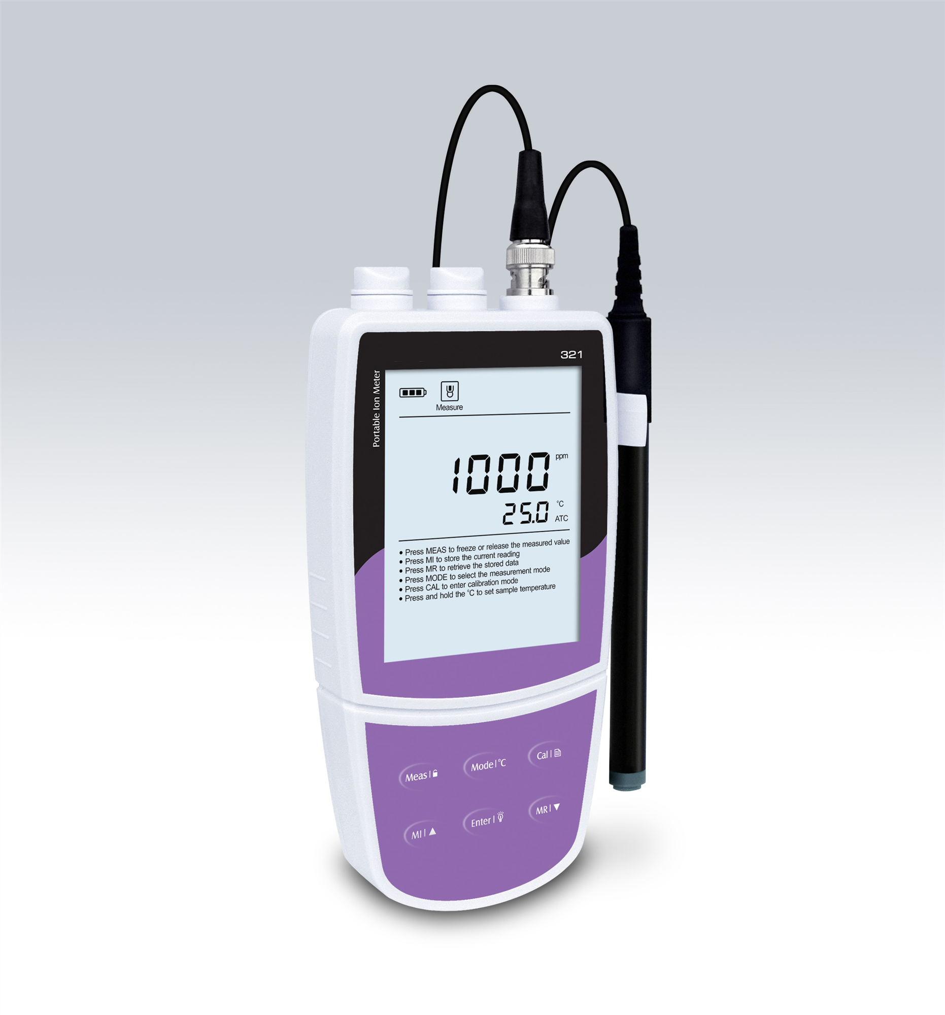Portable Nitrate Ion <strong>Meter</strong> nitrate <strong>meter</strong> for aquaculture and others