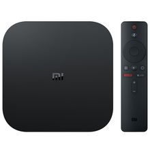 2020 Новый Xiaomi TV Box S Google четырехъядерный Android 8,1 Android TV box глобальная версия Mi TV Box S