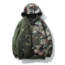<span class=keywords><strong>Winter</strong></span> Hot Koop Camouflage Hip Hop Casual Mannen Jas Jas