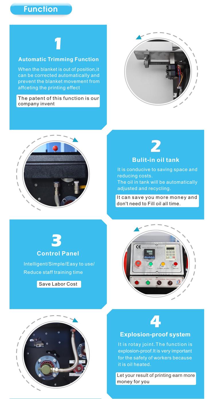 नई आगमन टच स्क्रीन डिजिटल नियंत्रक मिनी तेल रोलर heatpress गर्मी प्रेस मशीन रोलर