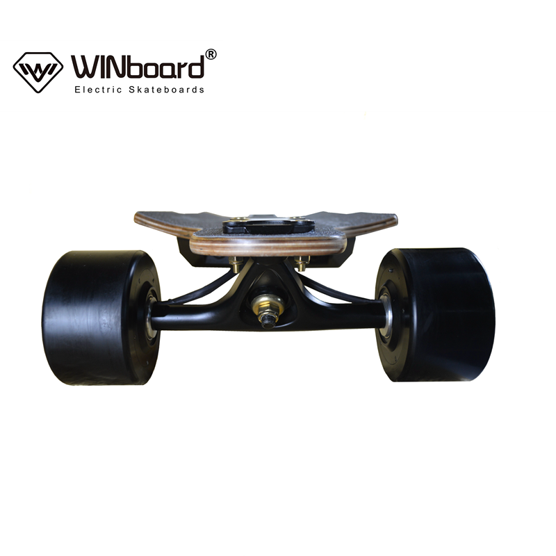 WINboard new panther FOC remote control customized 96mm hub motor 10S4P 8.8AH battery 38kmh speed electric motorized skateboard