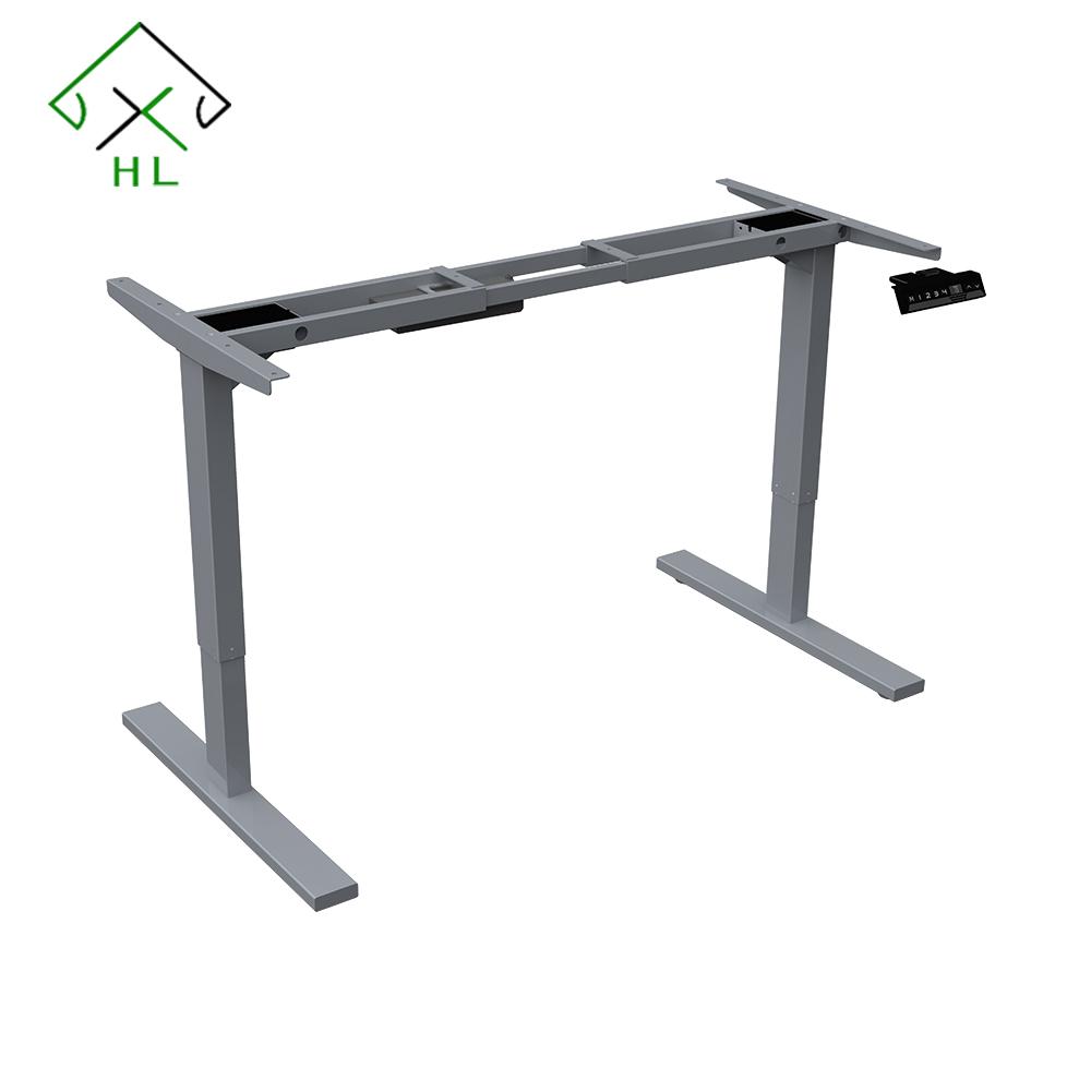 Dual Motor Electric Standing Desk Frame Adjustable Height Desk Electric